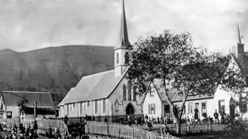 Fr Garin's school and St Mary's Parish Nelson