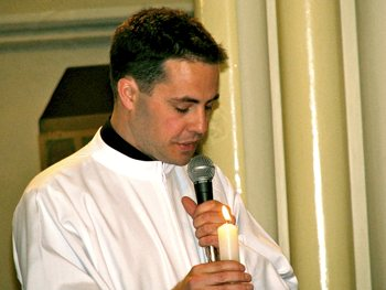 Matt Crawford takes final vows