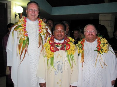 Sipiliano Faka'osi ordained priest in Tonga