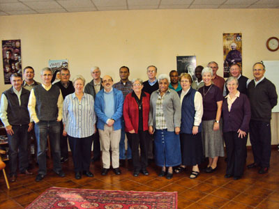 Marist family; the Marist Fathers, Marist Sisters, Marist Brothers and SMSM sisters meet in Rome.