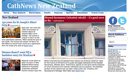 CathNews NZ and Pacific