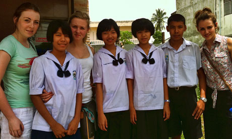 Irish students visit Marist Mission Thailand
