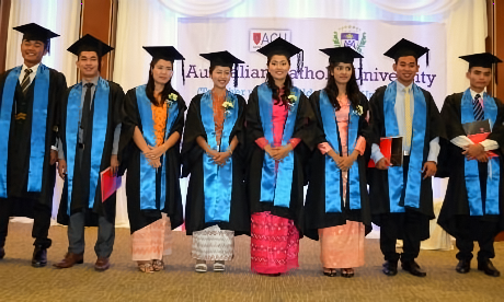 Marist Ranong education initiative gives Burmese graduates hope