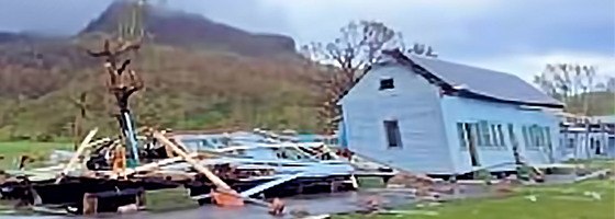 Marist missions hard hit by Fiji cyclone