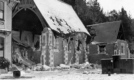 Mount St Mary's Greenmeadows, Chapel atter 1931 earthquake