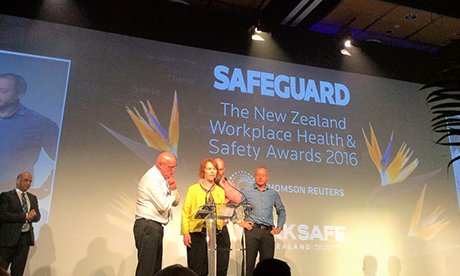 One for the Blokes wins a Safebguard award