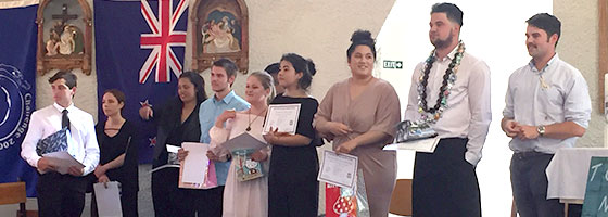 Nine more graduates; Marist – Challenge gap year