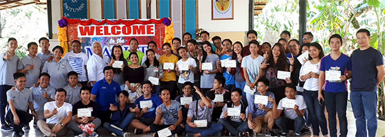 40 young people attend Marist vocations jamboree