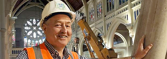 St Mary of the Angels rebuild a real test of faith