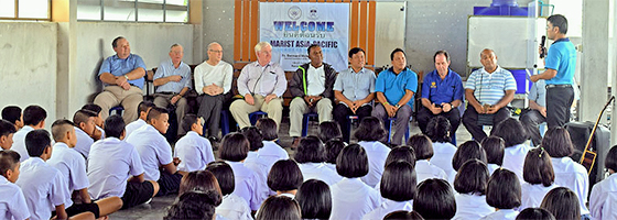MAP Marists talk ecology, education and migrants