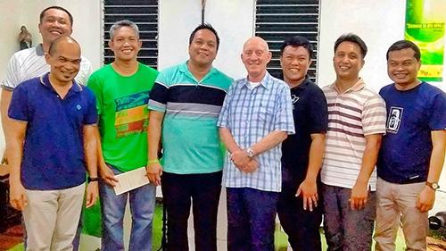 Pat Devlin Marist Asia